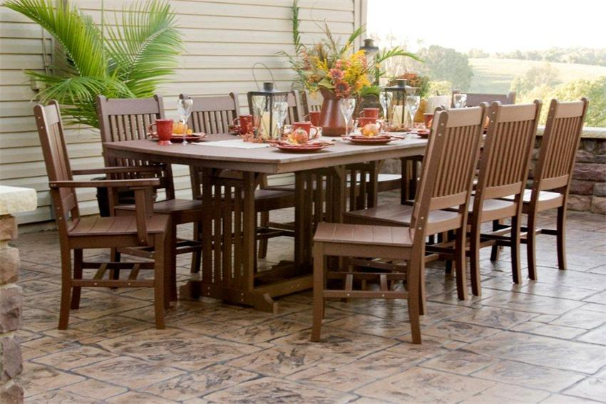 outdoor wood dining furniture. Outdoor Table Set Wood Dining Furniture A