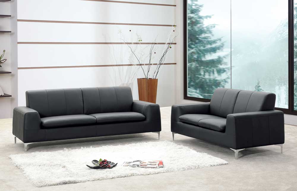 Leather sofa storefront for Sofa designer outlet