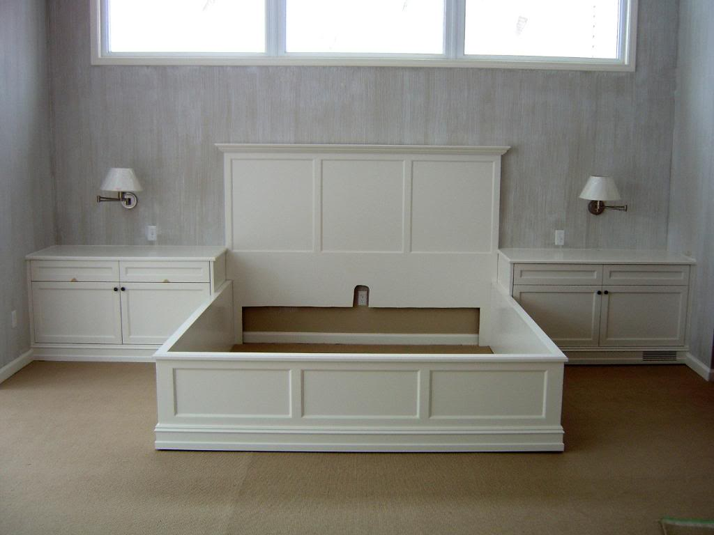 Queen Bed Frame Front
